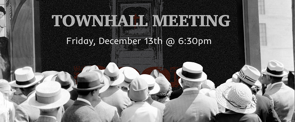 Town Hall Meeting at The Door