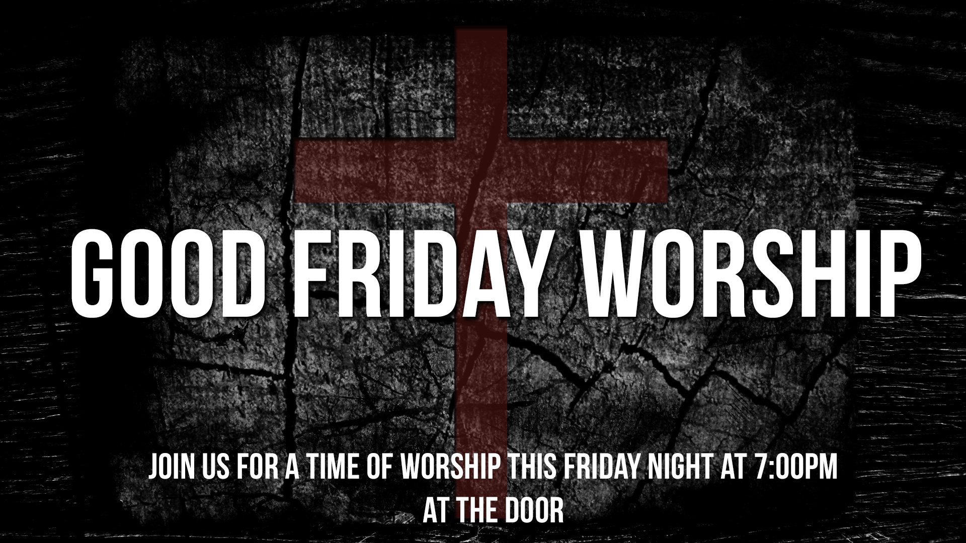 Good Friday Worship at The Door