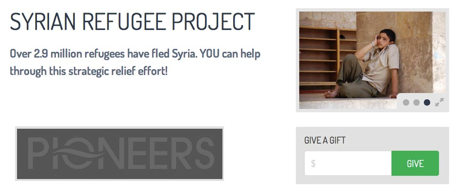 Link to Pioneers Syria